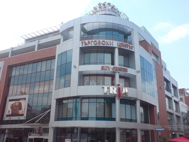 Mestské centum Tria Bourgas Bulharsko